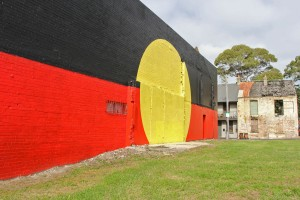Flagging: Renewed unity and action is needed to bring back affordable housing to The Block in Redfern. [Photo Jack Carnegie]