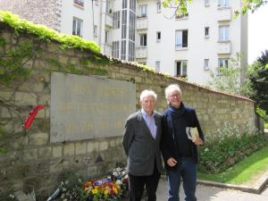 My last meeting with Gilbert, Père Lachaise cemetery, Paris 2010