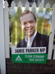 Jamie Parker the re-elected Greens MP for Balmain